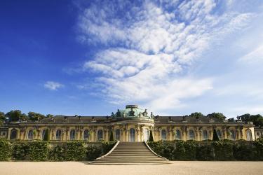 Die Weinbergterrassen von Schloss Sanssouci