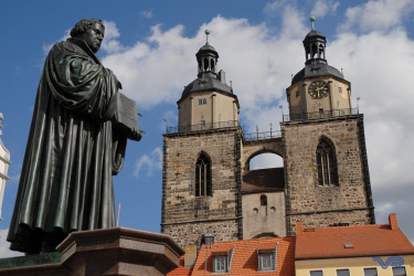 Luther-Statue in Wittenberg