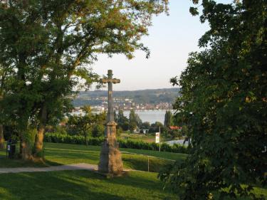 Blick von der Klosterinsel Reichenau auf den Bodensee