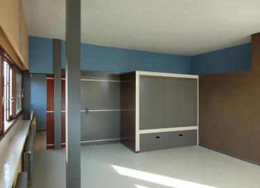 Das architektonische Werk von Le Corbusier - Inneneindruck der Häuser der Weissenhofsiedlung in Stuttgart
